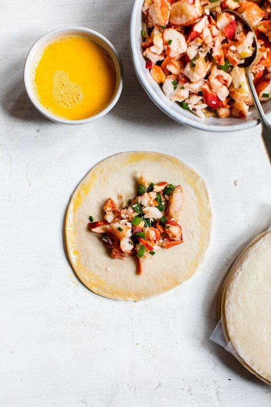 Empanadas au homard et au jalapeño
